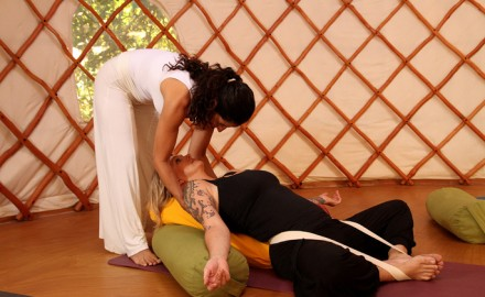 מפגש טיפולי – יוגה תרפיה